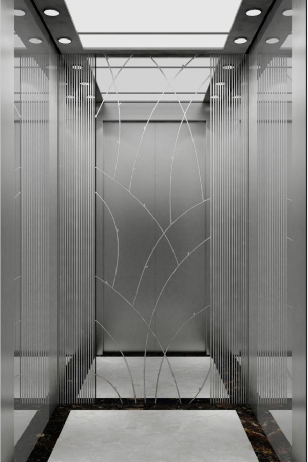 内蒙古DOER-V65现代简约别墅电梯