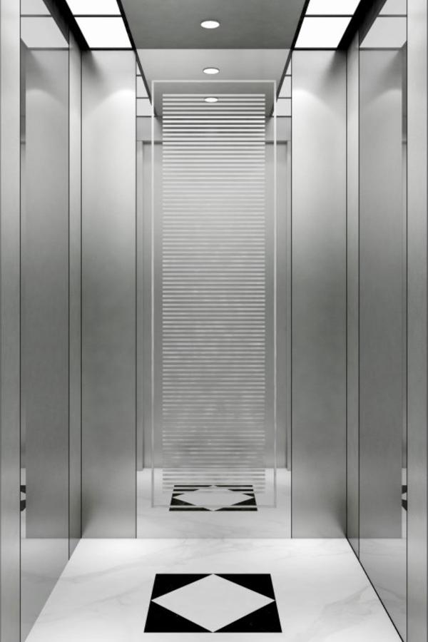 内蒙古DOER-V64现代简约别墅电梯